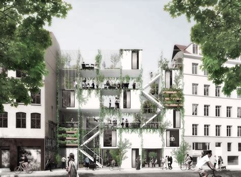 we architecture erik juul s garden and housing to provide turning point for copenhagen s