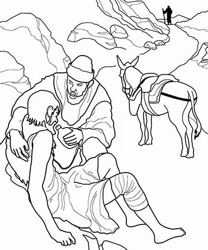 Helping Coloring Others Pages Dying Thirsty Drawing