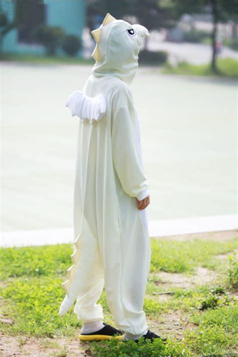 white dragon onesie animal costumes kigurumicom