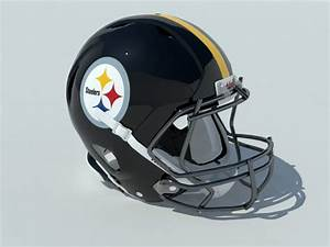 Interior Design Pittsburgh Football Helmet 3d Model Steelers Realtime 3d Models World