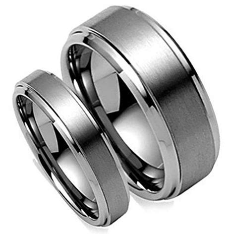 best 25 tungsten carbide rings ideas on