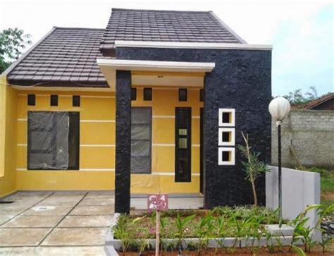 contoh favorit desain rumah minimalis  biaya  juta