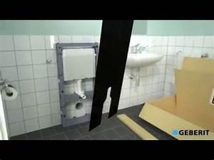 Geberit Monolith Wc : montage du geberit monolith pour wc au sol youtube ~ Frokenaadalensverden.com Haus und Dekorationen