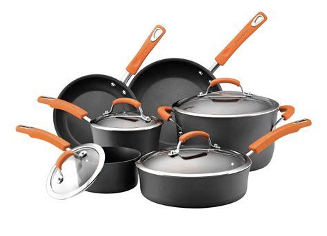 cookware rachael ray piece amazon nonstick anodized hard safe pots pans cooking kitchen ii dishwasher shipped reg rachel sets glass