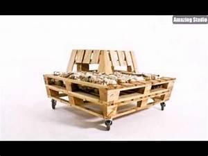 Möbel Aus Paletten Selber Bauen : diy m bel tisch aus paletten selber bauen youtube ~ Sanjose-hotels-ca.com Haus und Dekorationen