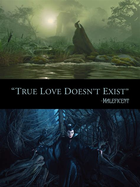 Maleficent Quotes True Love Doesnt Exist
