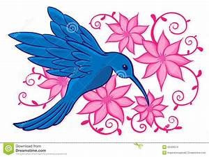 Hummingbirds And Flowers Clipart | www.imgkid.com - The ...
