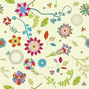 Abstract Flower Pattern Background Vector Graphic   Free ...