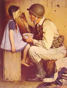 the american way 1944 norman rockwell wikiart org