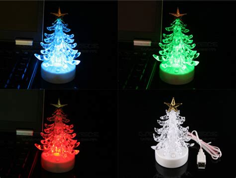 christmas gadgets the usb musical christmas tree