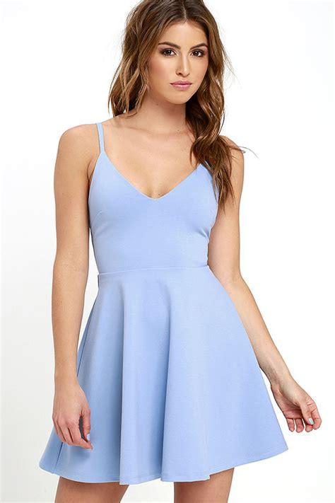 skater stretch skirt light blue dress skater dress fit and flare dress