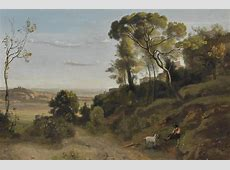 JeanBaptisteCamille Corot French, 17961875 Campagne