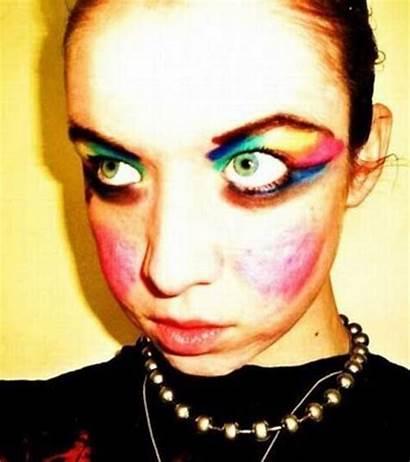 Makeup Bad Woman Lipstick Worst Heavy Eye