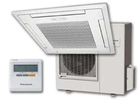 Zone Ceiling Cassette Mini Split by Friedrich C24yf 22 200 Btu 230 208v 15 0 Seer Single Zone
