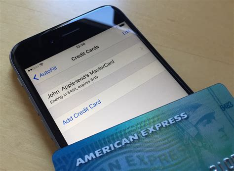 Your card number, the name on your card, the expiration date, and your security code is all listed here. Changing your Apple ID credit card info directly from your iPhone