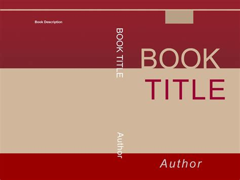 Book Cover Page Design Templates Free by Book Cover Template Peerpex