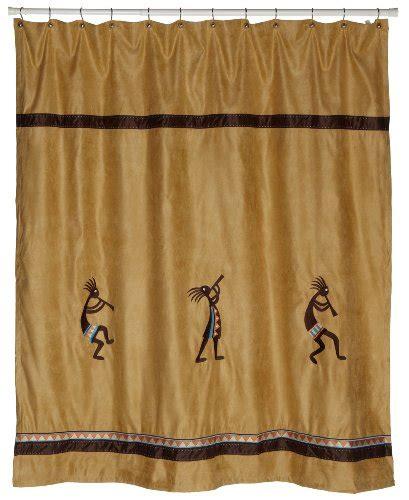 Kokopelli Shower Curtain - avanti linens kokopelli shower curtain gold new free