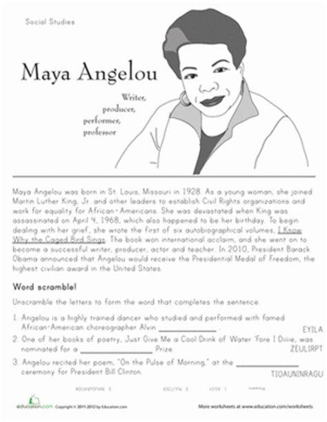 historical heroes angelou black activists and