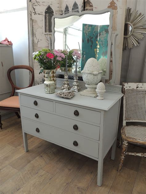 dressing table shabby chic shabby chic edwardian dressing table with mirror eclectivo london furniture with soul