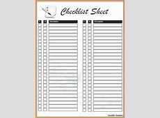 Free checklist template Authorization Letter Pdf