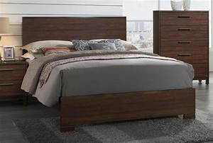 Edmonton collection queen bed 204351q complete beds for Furniture and mattress warehouse edmonton