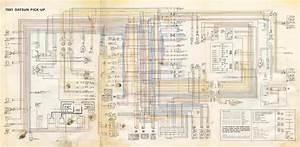 Datsun Pickup 1981 Complete Wiring Diagram