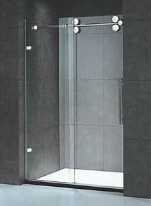porte de douche coulissante battante et fixe en 95 idees With porte de douche coulissante avec radiateur a eau salle de bain