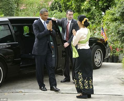 myanmar obama and clinton meet with aung san suu kyi in