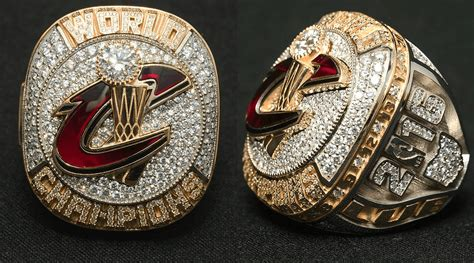 cavs championship ring reminds   warriors blew