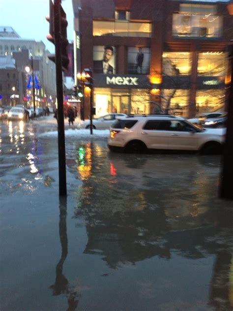 flooding  downtown montreal ctv montreal news