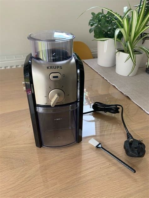 4.7 out of 5 stars 147 product ratings. KRUPS GVX231 EXPERT BURR GRINDER / BLACK   in Farnley, West Yorkshire   Gumtree