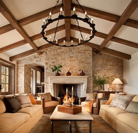 Houzz Living Room Lighting by French Style Home Traditional Family Room San