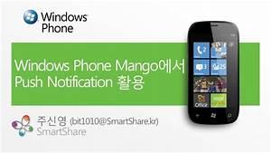 Windows Phone Mango에서 Push Notification 활용(1)