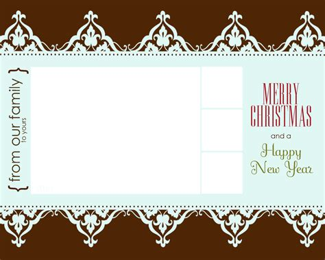 free christmas card templates for milkandhoneydesigns my loss your gain free goodies