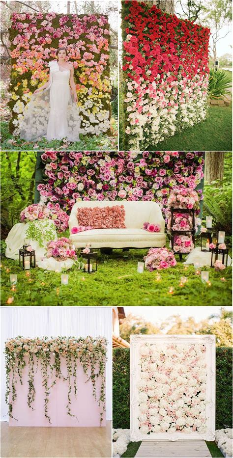 Heart melting Wedding Backdrop Ideas to Love
