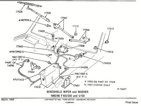 Ford Wiper Linkage Diagram by Pic Drawing Request Wiper Linkage To Motor Ford Truck
