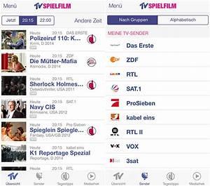 Tv Spielfilm App : fernsehprogramm auf dem iphone neue tv spielfilm app und ~ A.2002-acura-tl-radio.info Haus und Dekorationen
