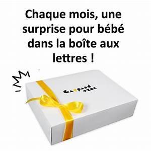 Box Surprise Femme : box pour b b en abonnement cadeau box pour b b ~ Preciouscoupons.com Idées de Décoration