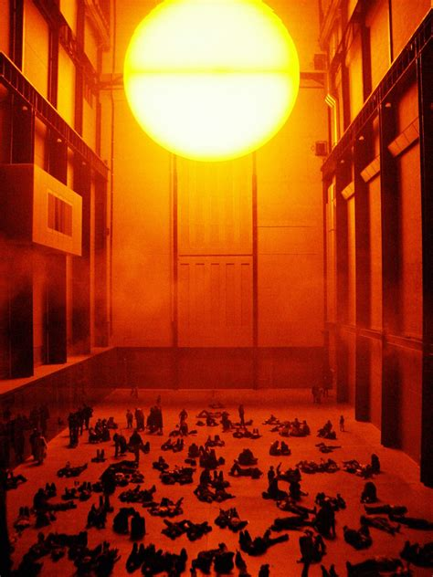 Olafur Eliasson Sun by And The Psyche Olafur Eliasson On Cities