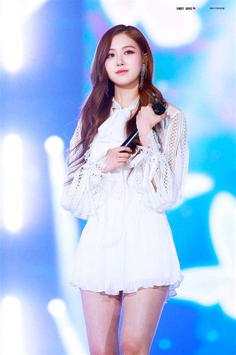blackpink rose special stage sbs gayo daejun