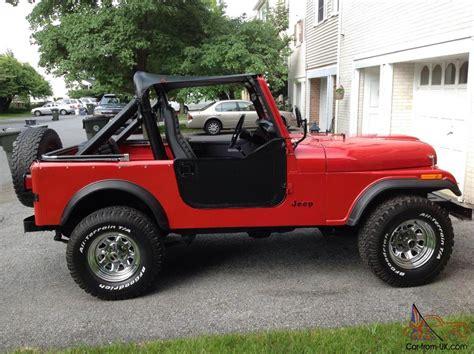 cj jeep wrangler cj cj7 jeep wrangler rock crawler amc
