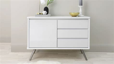 Small White Sideboard by Assi Compact White Sideboard Uk