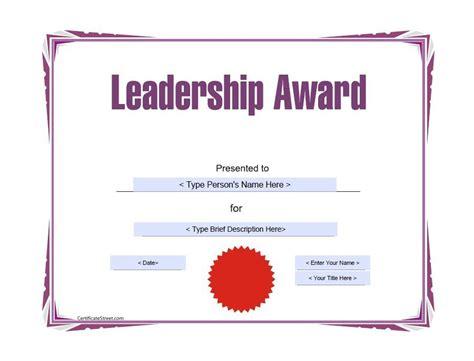amazing award certificate templates template lab