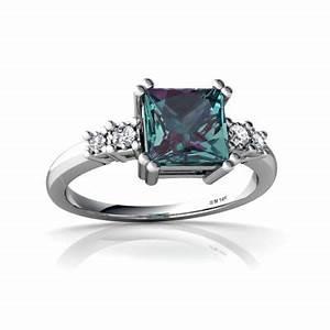 Lab Alexandrite and Diamond Art Deco Ring | Beautiful ...