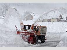 Winter extrem Österreich versinkt im Schnee Panorama