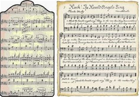 Freebie Printable Vintage Music Tags And Song Sheets Paperblog