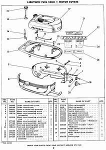 Cd 2088  Hp Outboard Motor Parts Diagram Motor