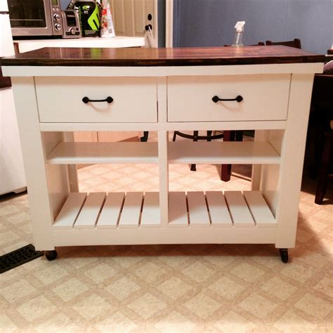 ana white rustic kitchen island diy diy projects