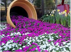 30 Brilliant Ideas To Make Spilled Flower Pots Blogrope