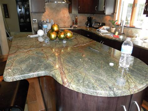 rainforest green granite a contemporary kitchen